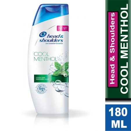 Head and Shoulders Anti-Dandruff Cool Menthol Shampoo 180ml