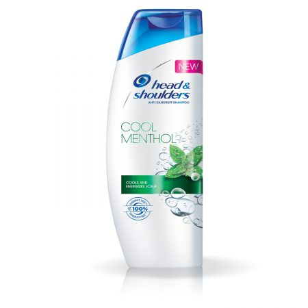 Head and Shoulders Anti-Dandruff Cool Menthol Shampoo, 340ml