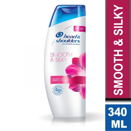 Head and Shoulders Anti-Dandruff Smooth & Silky Shampoo 340ml