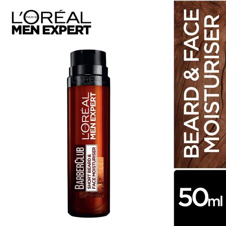 L'Oreal Men Expert Barber Club Short Beard & Face Moisturizer (50 ml)