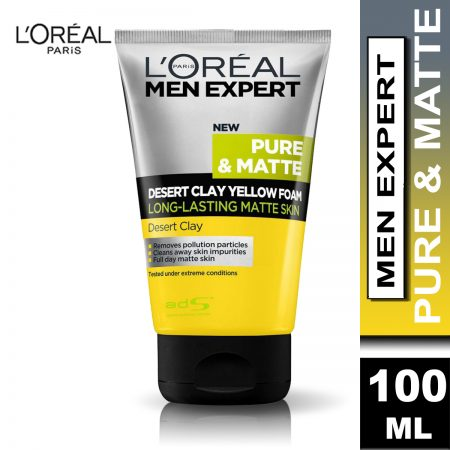 L'Oreal Men Expert Desert Clay Facewash 100 ml