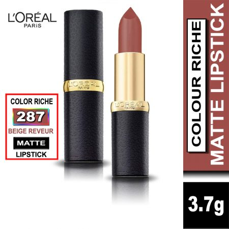 L'Oreal Paris Color Riche Moist Matte Lipstick (287 Beige Reveur)