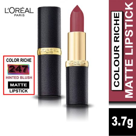 L'Oreal Paris Color Riche Moist Matte Lipstick (247 Hinted Blush)
