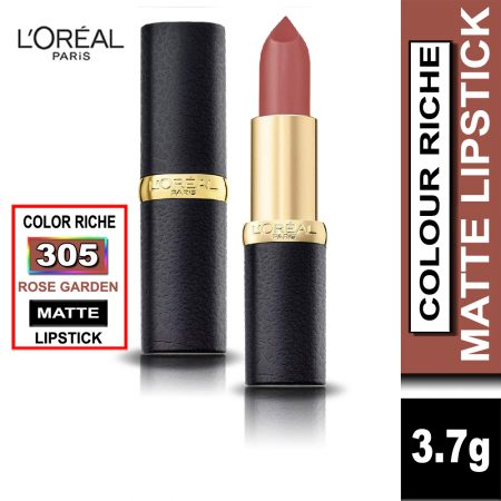 L'Oreal Paris Color Riche Moist Matte Lipstick (305 Rose Garden)