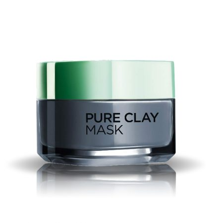 L'Oreal Paris Pure Clay Mask, Detoxify With Charcoal 50ml