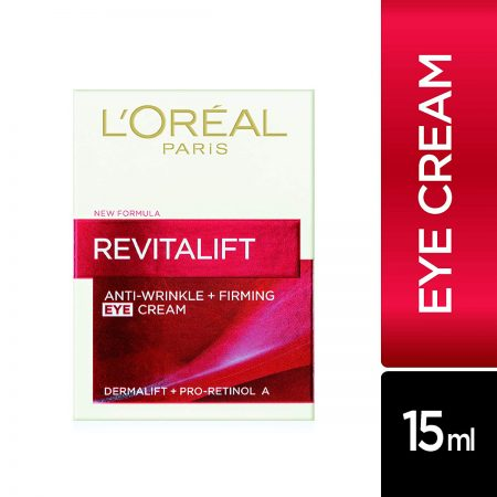 L'Oreal Paris Revitalift Moisturizing Eye Cream, 15ml