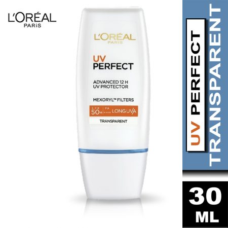 L'Oreal Paris UV Perfect Transparent Skin 30ml