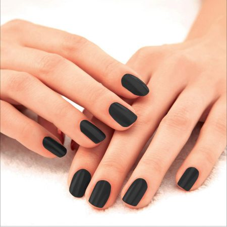 Lakme Absolute Gel Stylist Nail Color Carbon