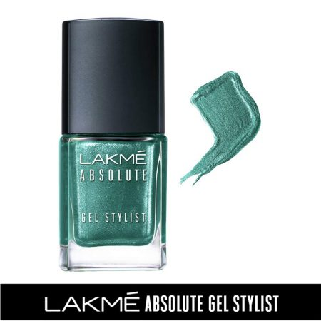 Lakme Absolute Gel Stylist Nail Color Grassroots, 15ml