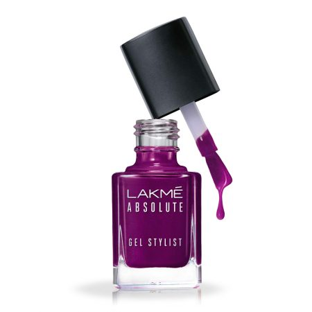 Lakme Absolute Gel Stylist Nail Color Poison 15ml