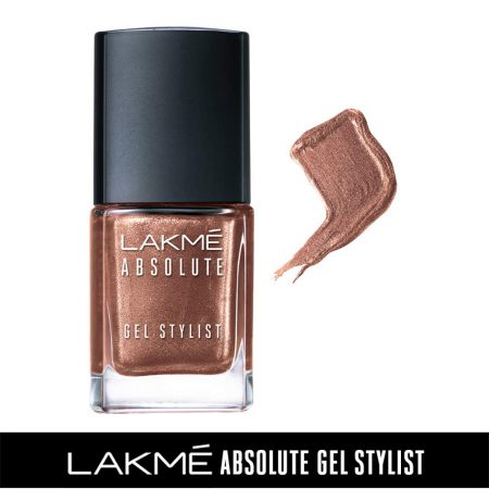 Lakme Absolute Gel Stylist Nail Color Trophy, 15ml
