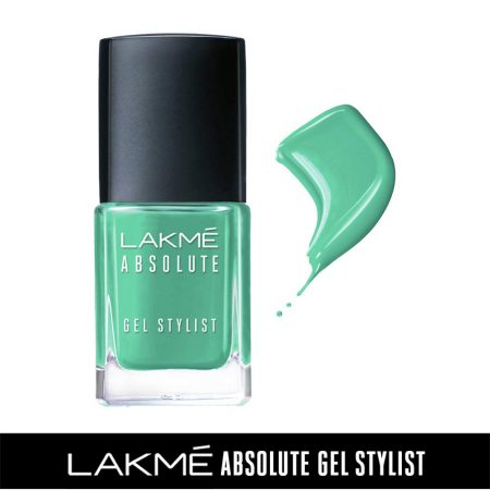 Lakme Absolute Gel Stylist Nail Color Verdure, 15ml