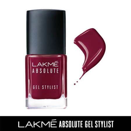 Lakme Absolute Gel Stylist Nail Color Warrior, 15ml