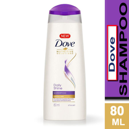 Dove Daily Shine Shampoo 80ml