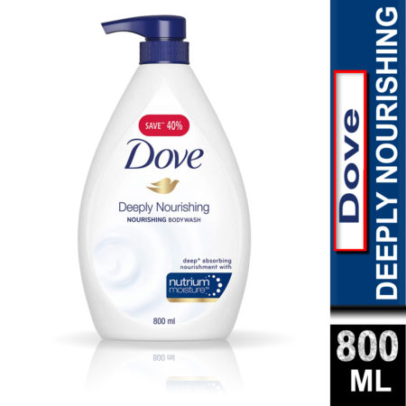 Dove Deeply Nourishing Bodywash (800ml)