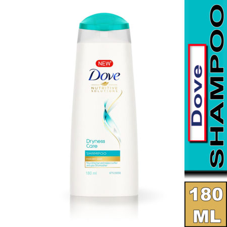 Dove Dryness Care Shampoo 180ml