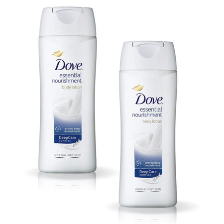 Dove Essential Nourishment Body Lotion (100 ml) Pack of 2
