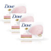 Dove Pink Rosa Beauty Bathing Bar Pack of 3