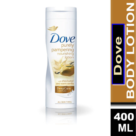 Dove Purely Pampering Nourishing Body Lotion with Shea Butter and Warm Vanilla (400ml)