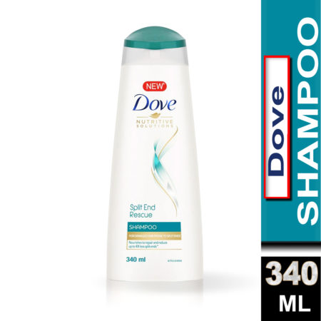 Dove Split End Rescue Shampoo (340ml)