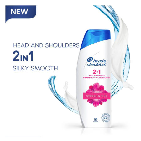 Head and Shoulders 2 in 1 Anti-Dandruff Smooth & Silky Shampoo + Conditioner