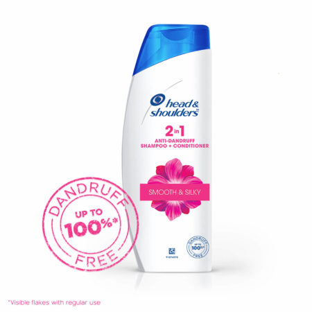 Head and Shoulders 2 in 1 Anti-Dandruff Smooth & Silky Shampoo + Conditioner (340ml)