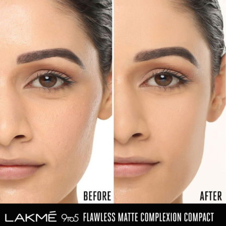 LakmE 9to5 Flawless Matte Complexion Compact Melon (8g)
