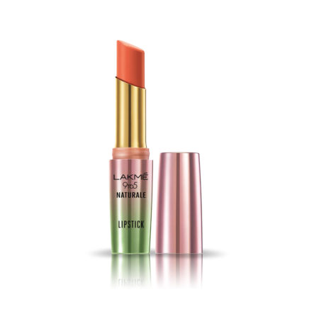 Lakme 9 to 5 Naturale Matte Lipstick, Coral Bliss, 3.6g
