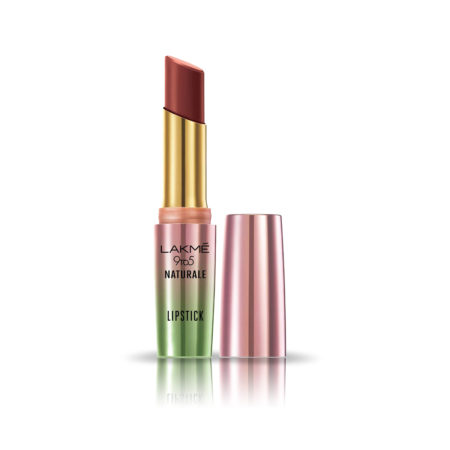 Lakme 9 to 5 Naturale Matte Lipstick, Nude Pink, 3.6 g