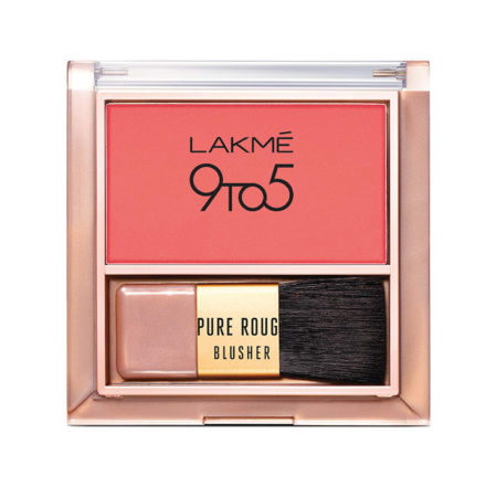 Lakme 9to5 Pure Rouge Blusher, Coral Punch 6g
