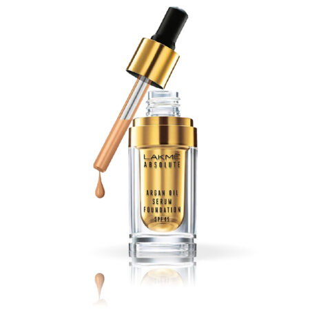 Lakme Absolute Argan Oil Serum Foundation, Silk Golden