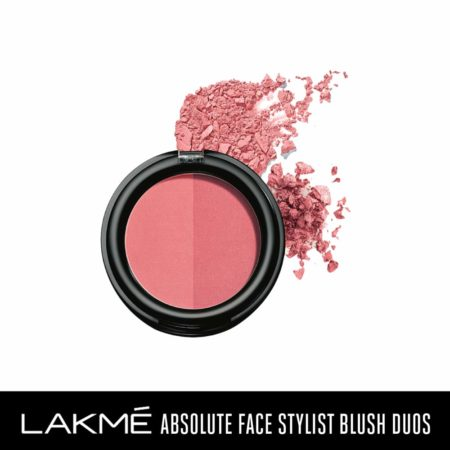 Lakme Absolute Face Stylist Blush Duos, Rose Blush 6g