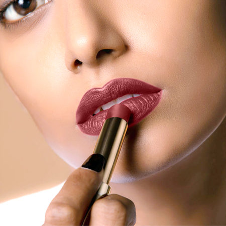 Lakme Absolute Matte Ultimate Lip Color With Argan Oil Chocolate Brownie