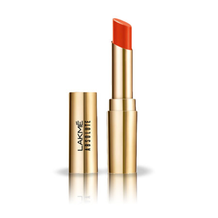 Lakme Absolute Matte Ultimate Lip Color With Argan Oil, Orange County (3.4g)
