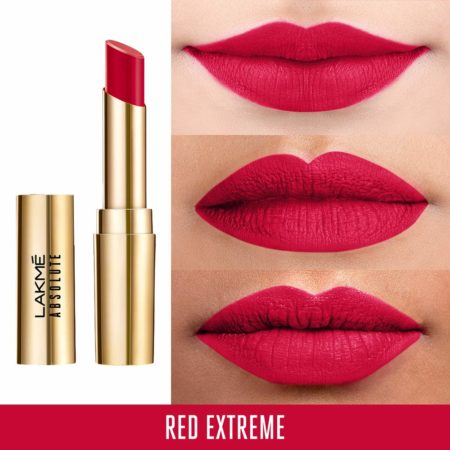 Lakme Absolute Matte Ultimate Lip Color With Argan Oil Red Extreme