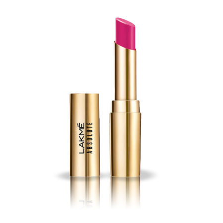 Lakme Absolute Matte Ultimate Lip Color With Argan Oil, Orchid Pink (3.4g)