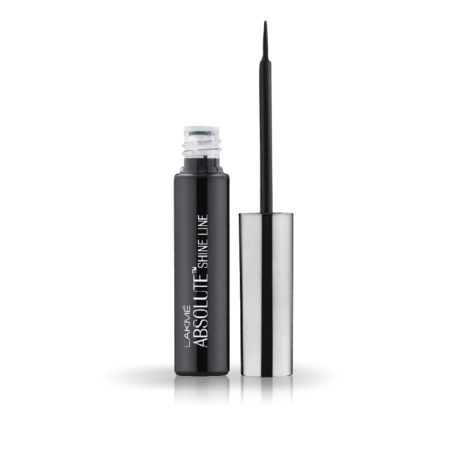 Lakme Absolute Shine Liquid Eye Liner, Black 4.5ml