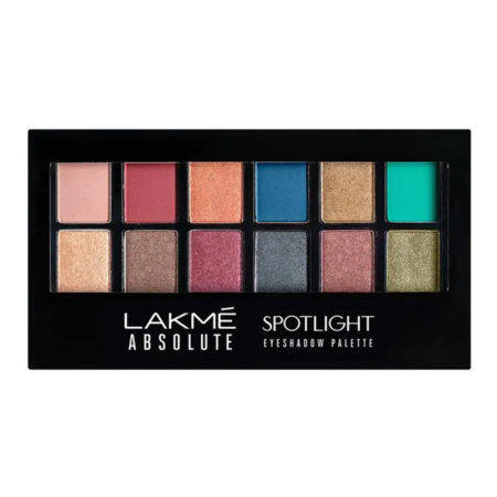 Lakme Absolute Spotlight Eye Shadow Palette, Stilettos, 12g