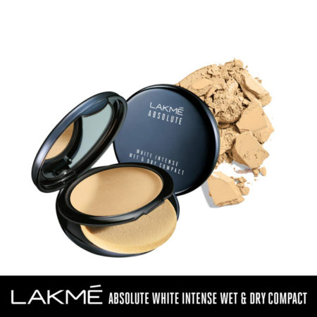 Lakme Absolute White Intense Wet & Dry Compact, Golden Light