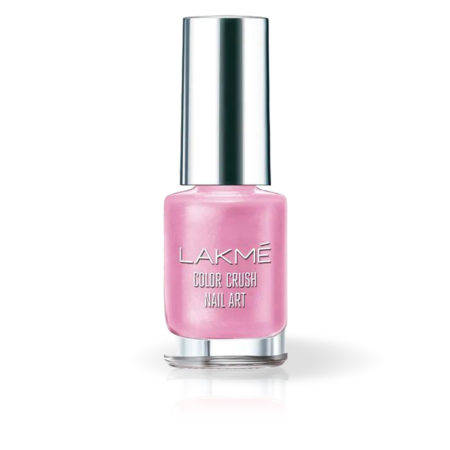 Lakme Color Crush Nail Art, Candy Pink M20 (6ml)