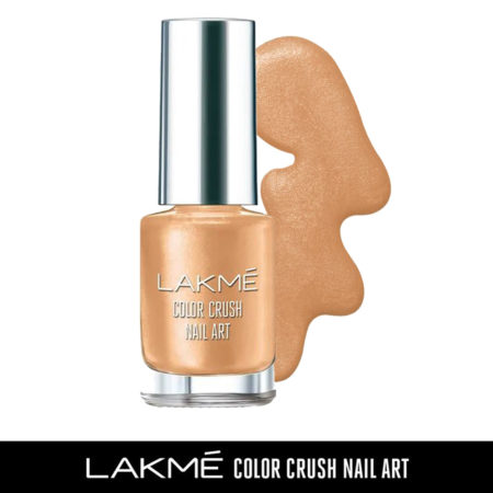 Lakme Color Crush Nail Art, Copper M13 (6ml)