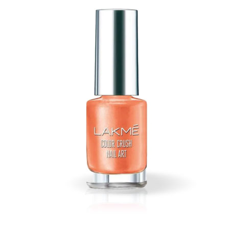 Lakme Color Crush Nail Art Peach M17 (6 ml)