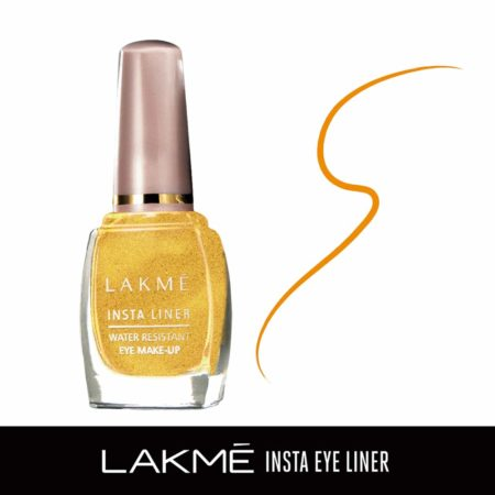 Lakme Insta Eye Liner, Golden 9ml