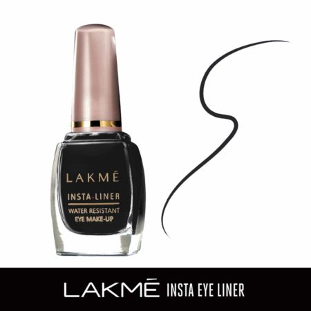 Lakme Insta Eye Liner, Black 9ml