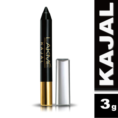 Lakme Pencil Kajal Black (3g) Pack of 2