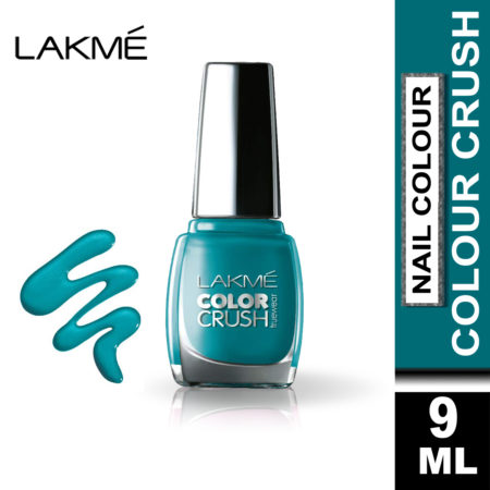Lakme True Wear Color Crush Nail Color Blue 27, 9 ml