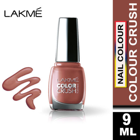 Lakme True Wear Color Crush Nail Color Shade 42, 9 ml