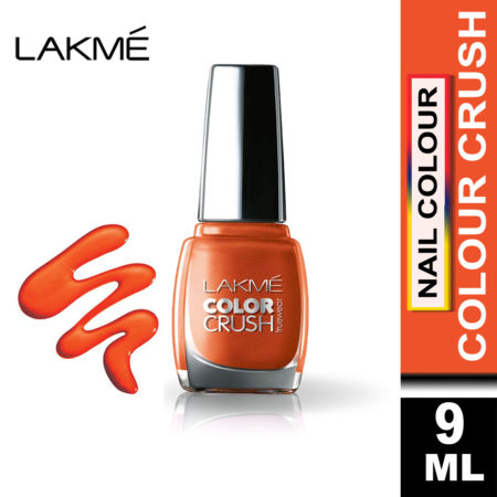 Lakme True Wear Color Crush Nail Color Shade 61, (9ml)