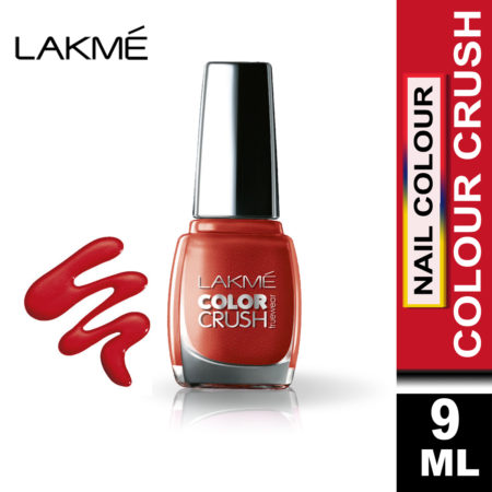 Lakme True Wear Color Crush Nail Color Shade 62, (9ml)