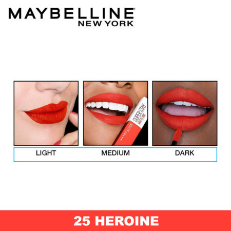 Maybelline New York Ink Liquid Lipstick, 25 Heroine 5ml